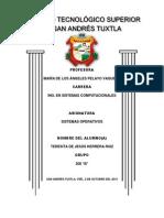 ANÁLISIS DE EVOLUCIÓN DE- WINDOWS, LINUX Y UNIX INDICANDO REQUERIMIENTOS TÉCNICOS DE PROCESO, MEMORIA Y DISCO DURO