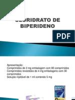 Cloridrato de Biperideno Slide