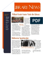 Library News October 2013