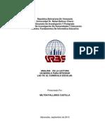 Analisis de La Lectura Un Modelo Para Integrar La s Tic en El Curriculo