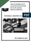 third meeting agenda