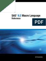 SAS Macro Language Reference