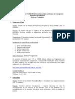Comites de Etica en Los Partidos Politicos que participan de programa Todos Hacemos Politica