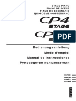 Yamaha CP4-CP40 - Manual