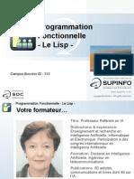 02-Programmation Fonctionnelle - Le Lisp