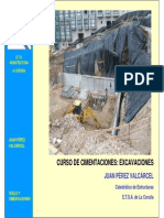 Patologa de Excavaciones