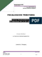 Procedimientos de Fiscalizacion Tributaria. Francisco Mendez Barrientos 1
