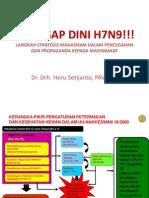 TANGGAP DINI H7N9!!!.ppt