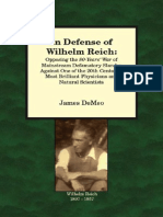 In Defense of Wilhelm Reich