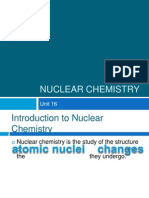 chemical vs nuclear reactions