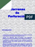 Barrenas de Perforación