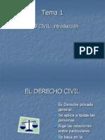 Derecho Civil General