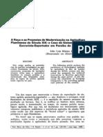 roça e as propostas de modernização - fragoso