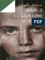BOYNE, John - Baiatul cu pijamale in dungi.pdf