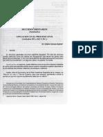RECURSOS ORDINARIOS (Apelación en el Proceso Civil) Art. 351 a 362 del CPC