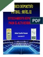 Ejercicios Fuerza CEDIFA NIVEL 3