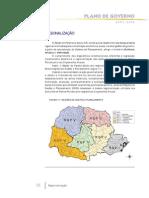 Plano de Governo PR 2003-2006 - Regionalização