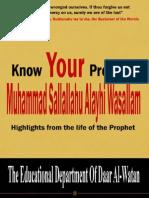 Know Your Prophet islamicpdf.blogspot.com