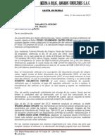Carta Notarial Pedro