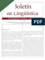 Boletín de lingüística_27_Universidad Rafael Landívar_Guatemala