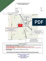 Spooktacular Parking Map