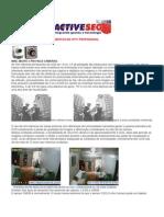 CARACTERÍSTICAS DOS EQUIPAMENTOS DE CFTV PROFISSIONAL