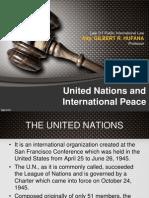 UN & International Peace