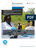 Integrating social and biophysical researching in R4D