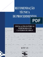 RTP05 Instalações Elétricas