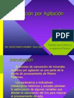 Cianuracion Por Agitacion m r.g.