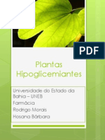 Plantas Hipoglicemiantes