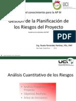 Gestion de La Planificacion de Los Riesgos Del Proyecto