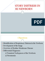 Respiratory Distress in the Newborn