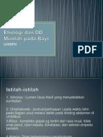 Etiologi dan DD Muntah pada Bayi.pptx