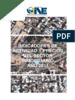 2011 Publicacion indicadores inmobiliarios