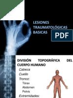Lesiones Traumatologicas Pcm