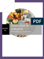 Apostila Tecnologia de Alimentos 1