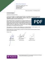 Nota Participación Juvenil institucional