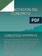 Compactacion Del Concreto