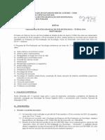 Edital Doutorado Sociologia Iesp