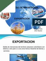 Proceso Imporacion y Exportacion