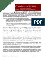 LMOGA 2009 Legislataive Summary