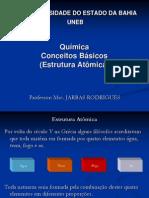 ESTRUTURA ATOMICA - F. QU+ìMICA - UNEB 2009