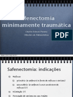 Safenectomia microtraumatica
