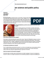 Linkage between science and public policy has weakened.pdf