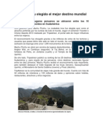 Machu Picchu elegido el mejor destino mundial.docx