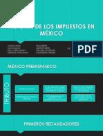 impuestos en México (Historia)