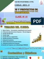 Clase 1 Proyectos 2013 II