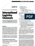 International Logistics Channels