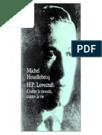 Houellebecq Michel - Lovecraft_ Contre Le Monde_ Contre La Vie